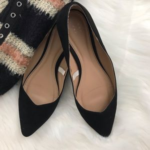 A New Day Black Pointy Toe Flats